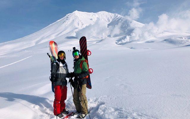 スキーガイドはじまりました