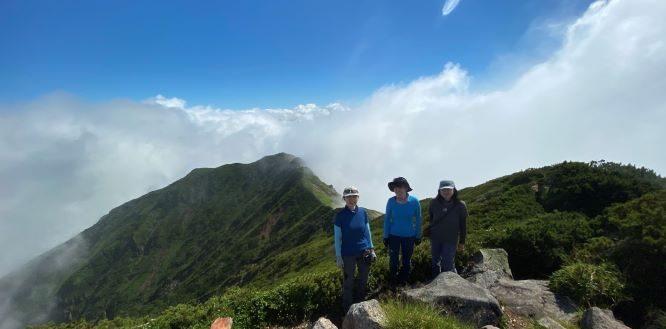 テント泊でオプタテシケ山