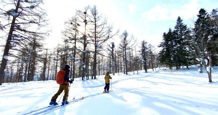 バックカントリ―スキー 体験