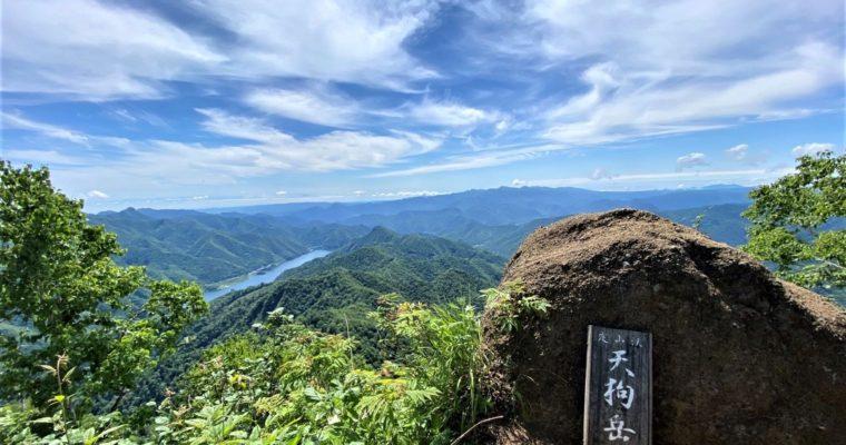 定山渓天狗岳へ花登山
